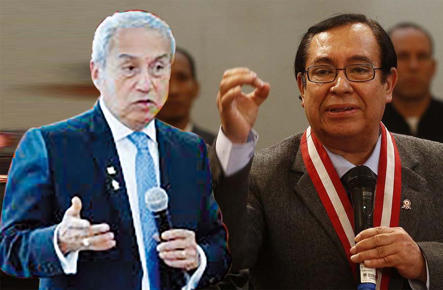 Presidente del PJ, Víctor Prado arremete contra fiscal de la Nación, Pedro Chávarry