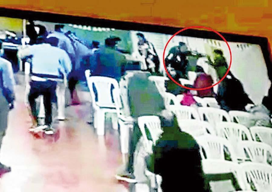Venezolanos armados desatan terror en iglesia