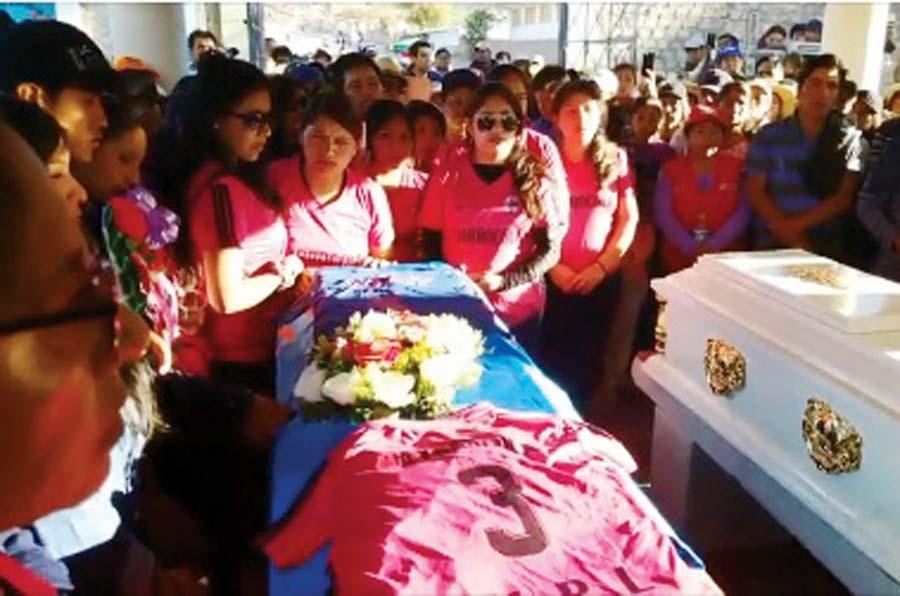 víctimas de intoxicación masiva en Ayacucho