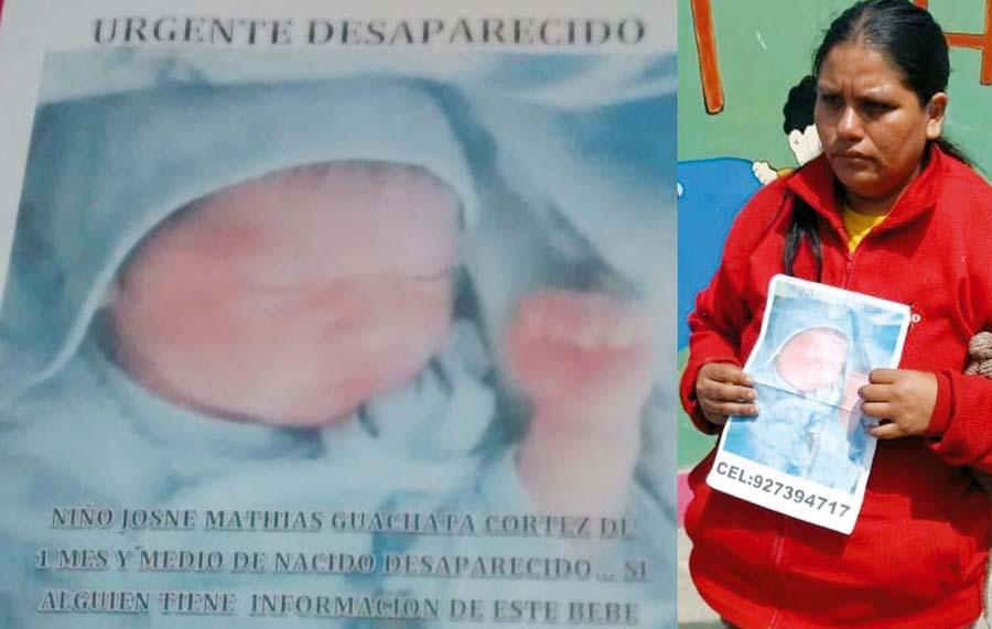 'Asistenta social' roba bebé de mes y medio