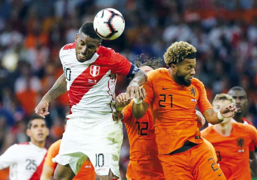 Holanda vs Perú