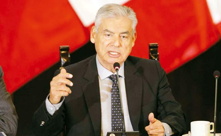 Jefe del Gabinete Ministerial, César Villanueva