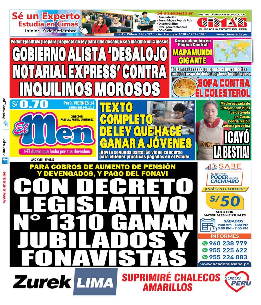 Portada (14-09-2018)