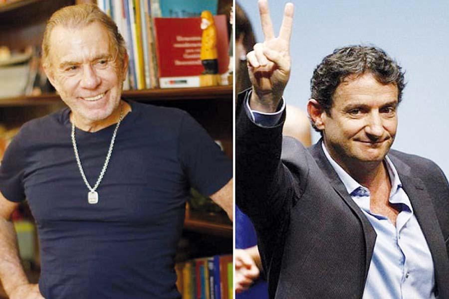 Ricardo Belmont y Renzo Reggiardo