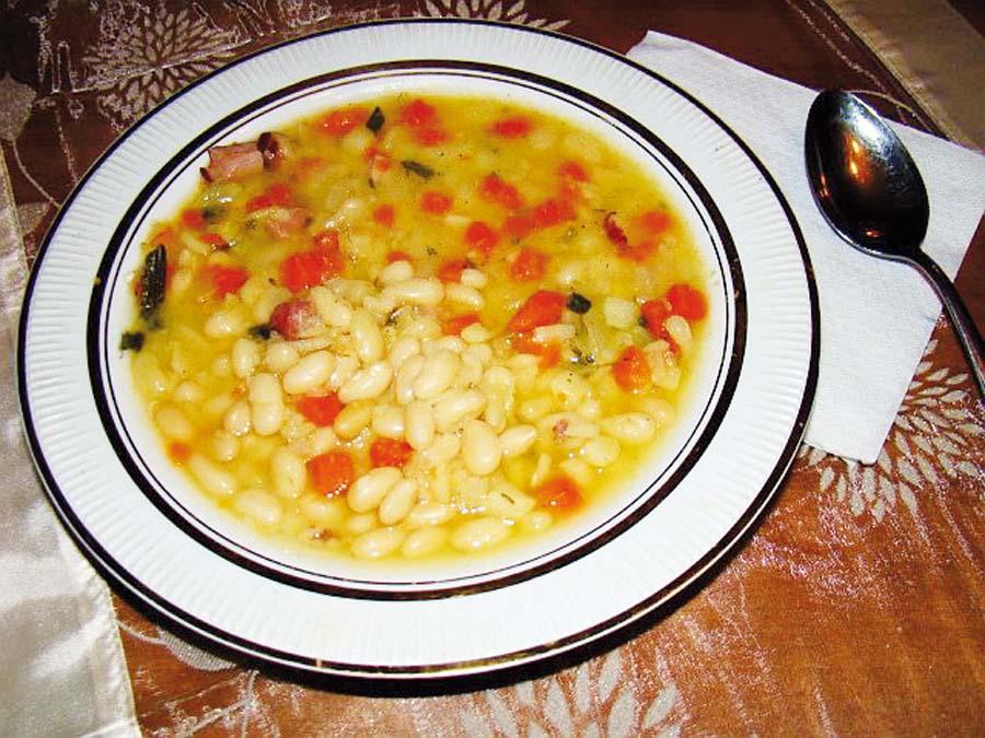 Sopa contra el colesterol