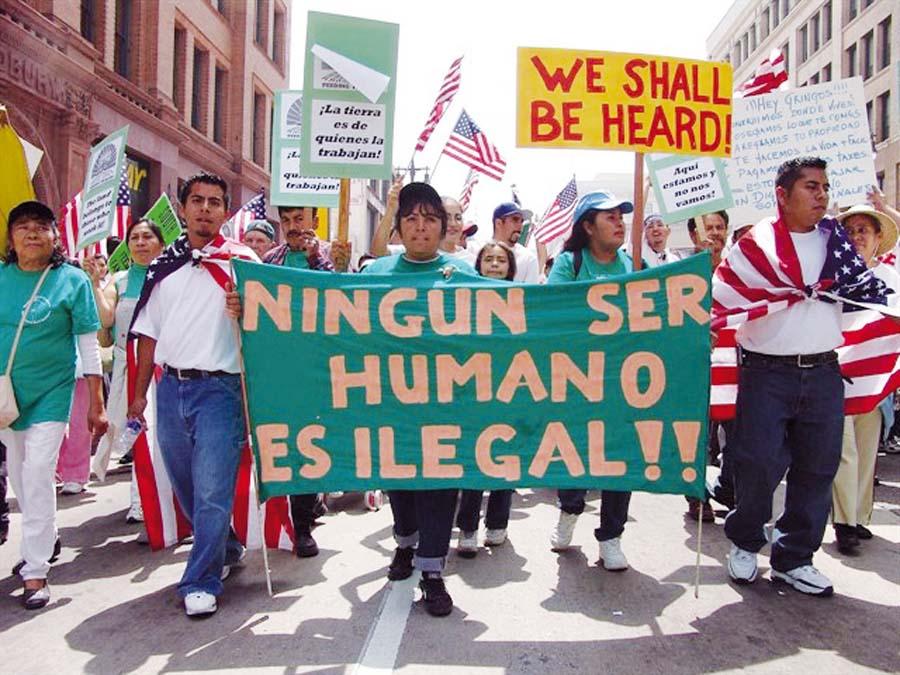 marcha contra el Gobierno del presidente de Nicaragua, Daniel Ortega