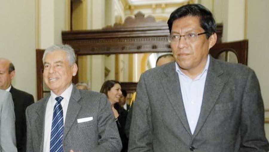 presidente de Consejo de Ministros César Villanueva confirmó su presencia y la del ministro de Justicia, Vicente Zeballos