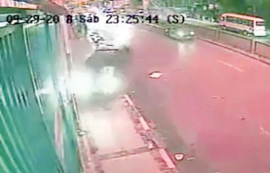 Hermano de ministro atropella a peatones