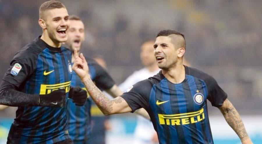 Inter Milán derroto 3-0 a la Lazio