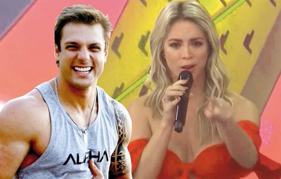Nicola Porcella asegura que lo quieren en Latina, pero Sheyla Rojas lo niega