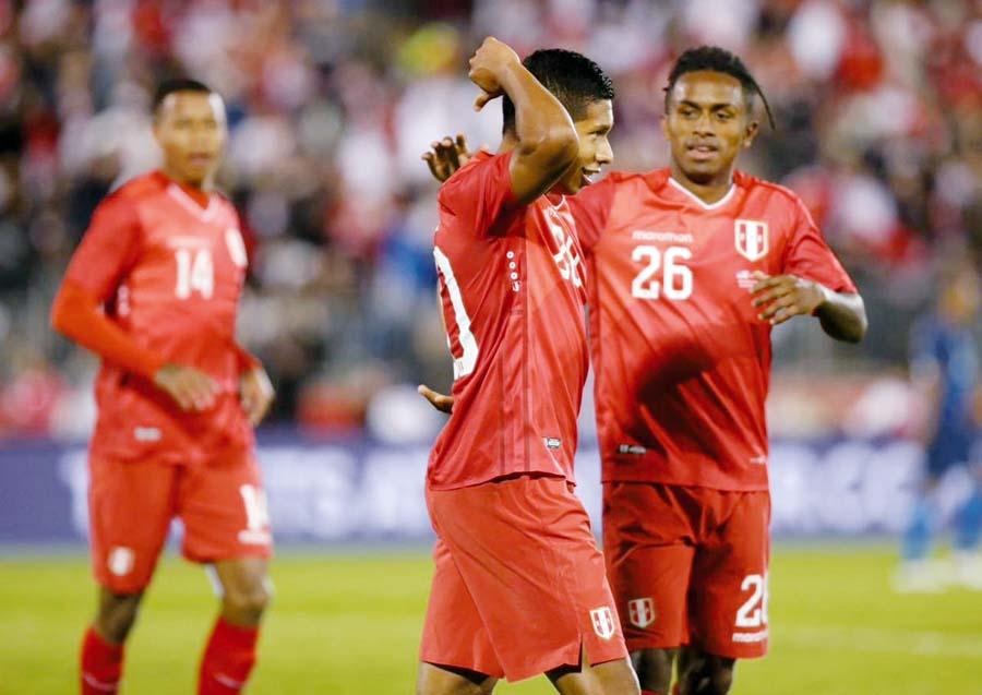 Selección peruana empato con USA