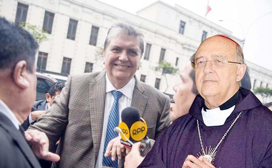 Cardenal Pedro Barreto y Alan García