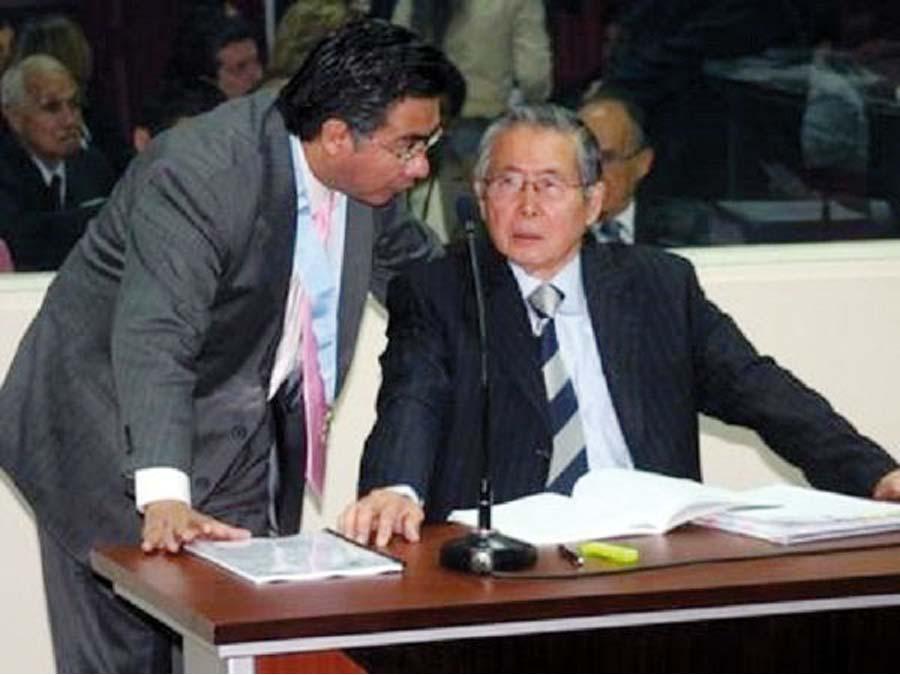 Cesar Nakasaki asumirá defensa legal de Alberto Fujimori