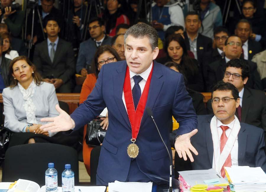 Coordinador del Equipo Especial del caso Lava Jato, Rafael Vela