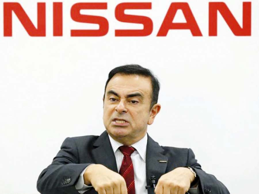 Directivo de Nissan Motor, Carlos Ghosn