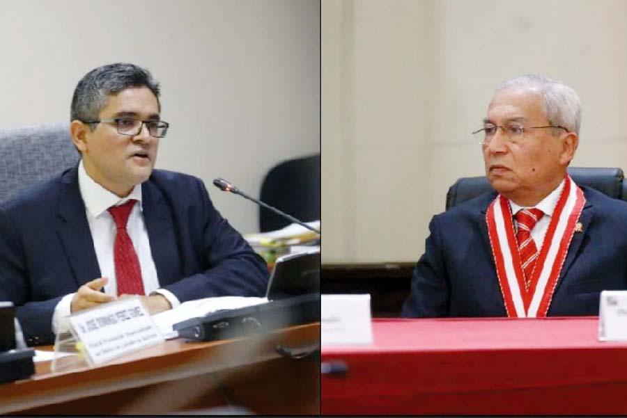 Fiscal de la nación Pedro Chávarry declara ante fiscal Pérez