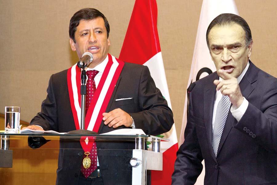 Guido del Aguila y Héctor Becerril