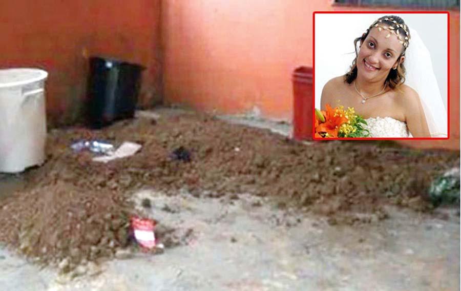 La enterraron viva