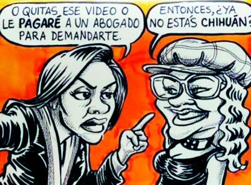 Leyla Chihuan y 'La Tigresa del Oriente'