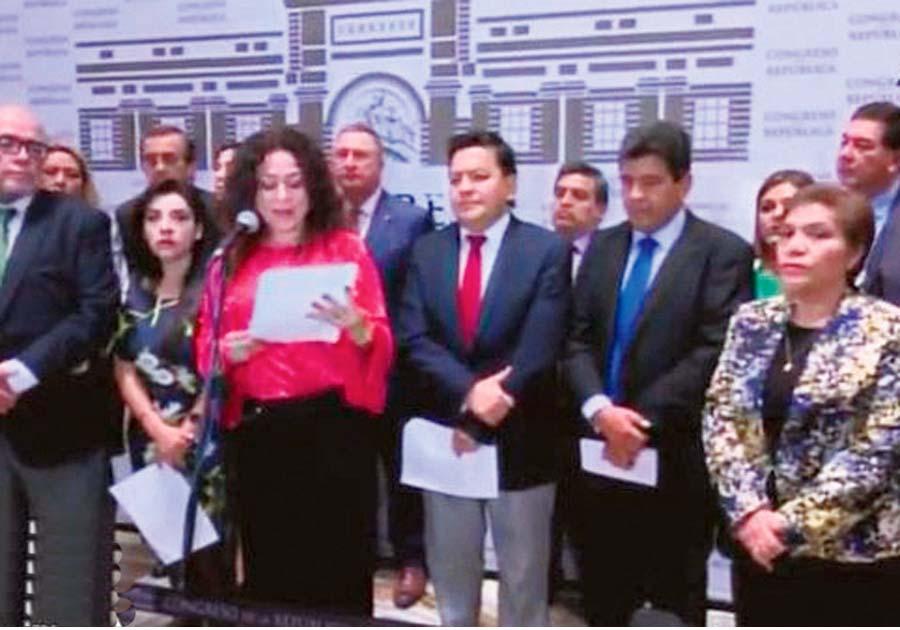Parlamentarios fujimoristas