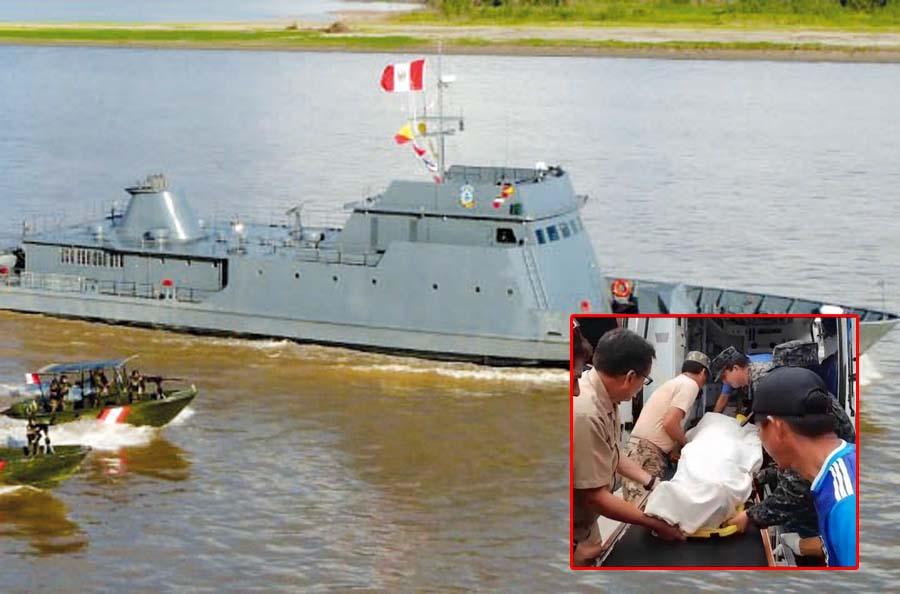 Patrulla de la Marina es atacada y hieren a tres infantes