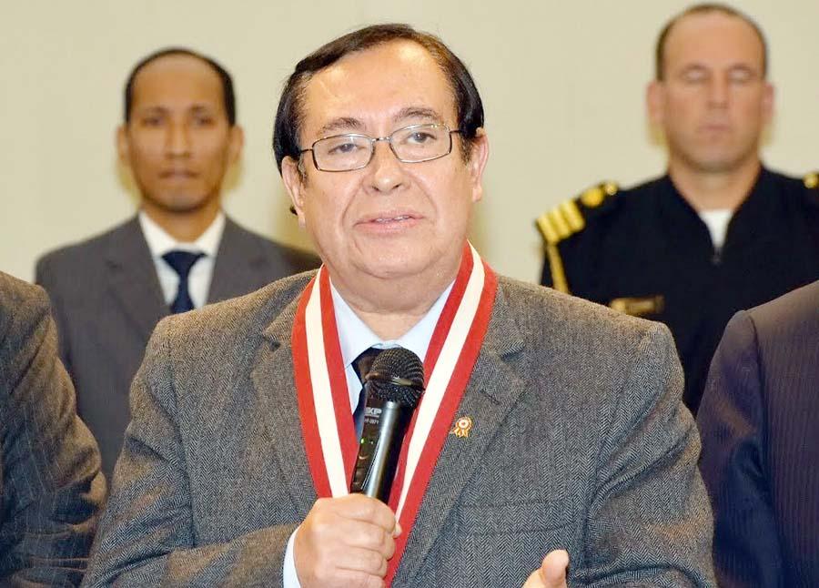Víctor Prado Saldarriaga, presidente del Poder Judicial