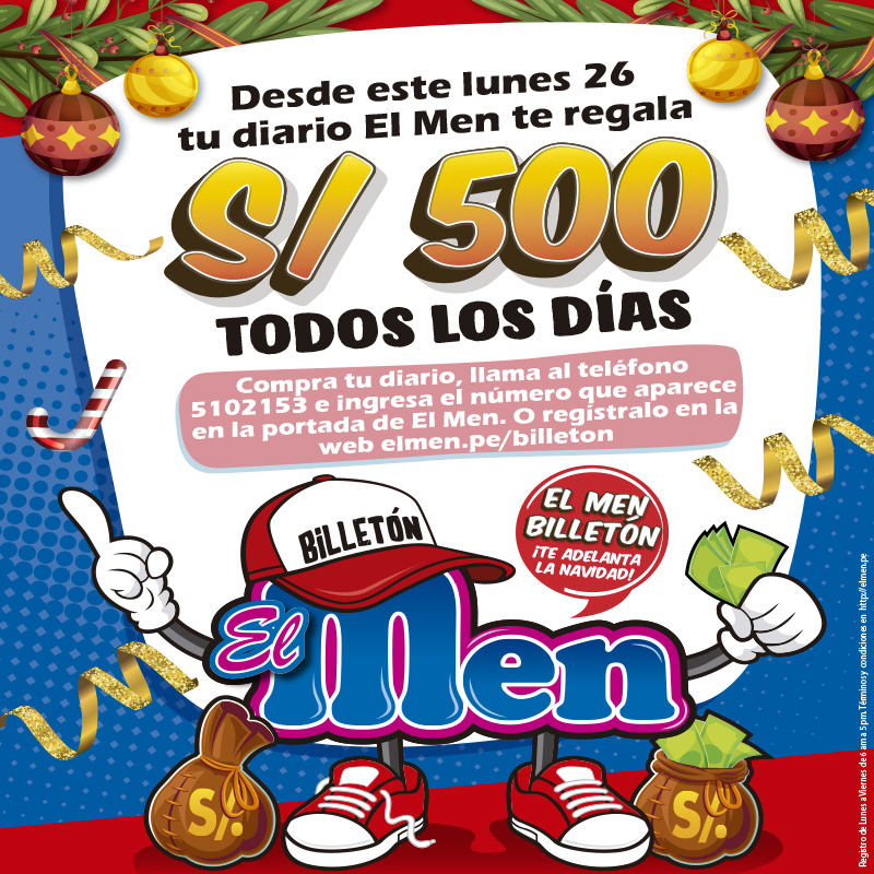 EL MEN BILLETON