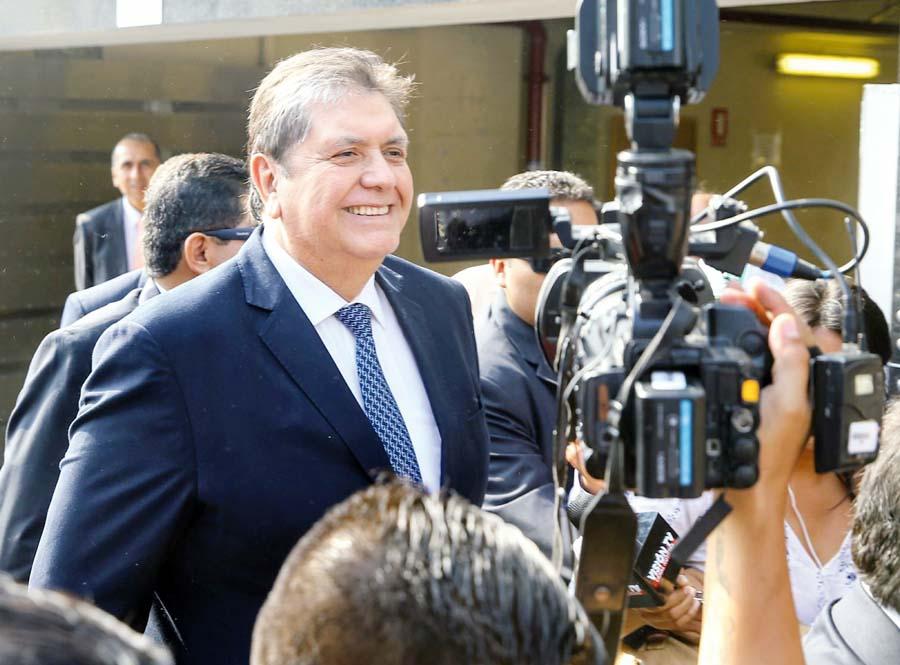 Ex-presidente Alan García