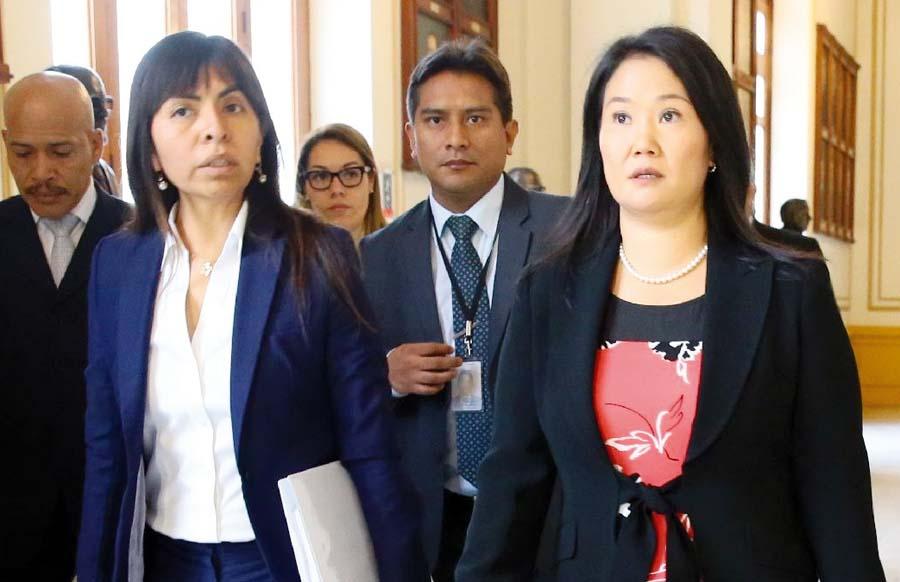 Abogada de Keiko Fujimori, Giuliana Loza