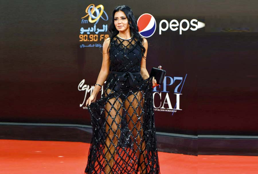 Actriz egipcia Rania Youssef