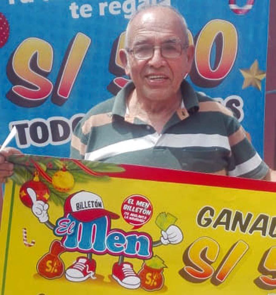 Alejandro Huaychao Saire fue el nuevo ganador de 'El Men Billetón'