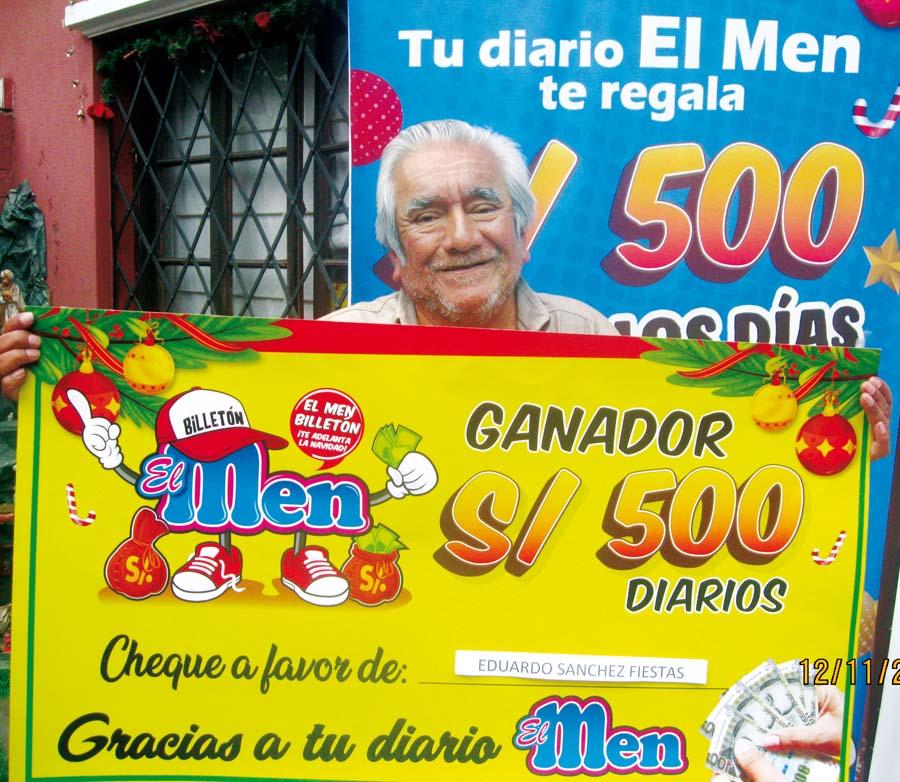 Eduardo Sánchez Fiestas se convirtió en el nuevo ganador de 'El Men Billetón'