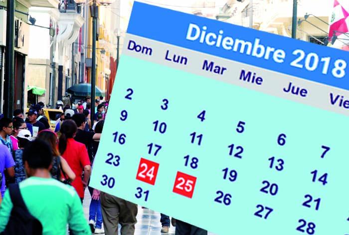 Feriado 24 diciembre