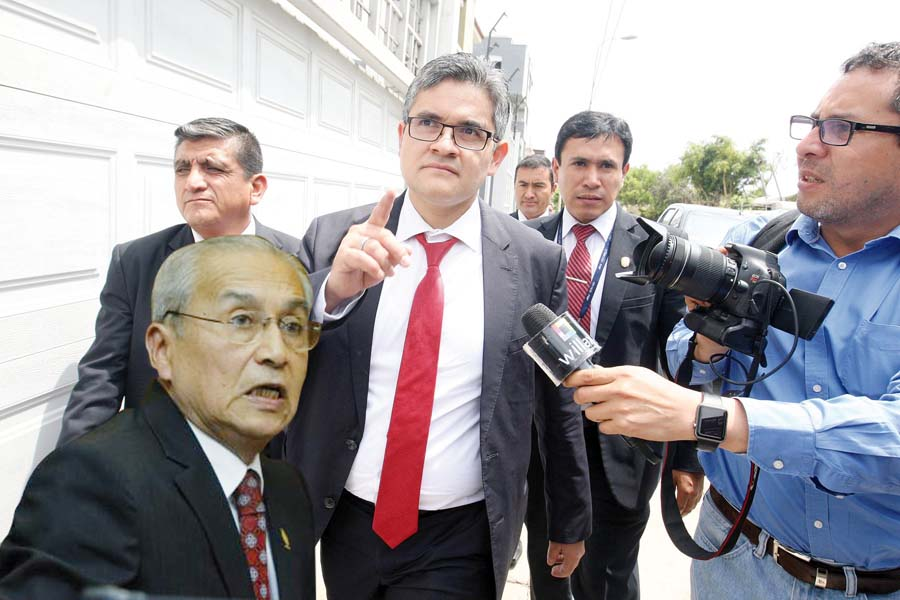 Fiscal de lavado de activos, José Domingo Pérez Gómez