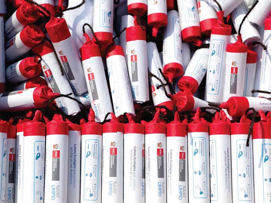 Los cohetes ecológicos