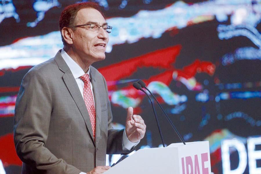 Presidente Martín Vizcarra en CADE Ejecutivos 2018