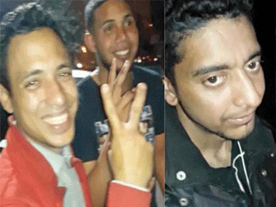 Venezolanos José Arcila Quiroz (32), Lorenzo Thompson Villena (22) y Jorge Alexander Bracho Zapata (33), detenidos por su presunta participacion en el crimen