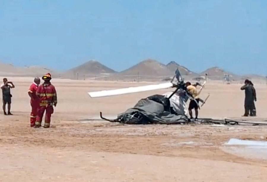 2 muertos tras estrellarse helicóptero del Ejército