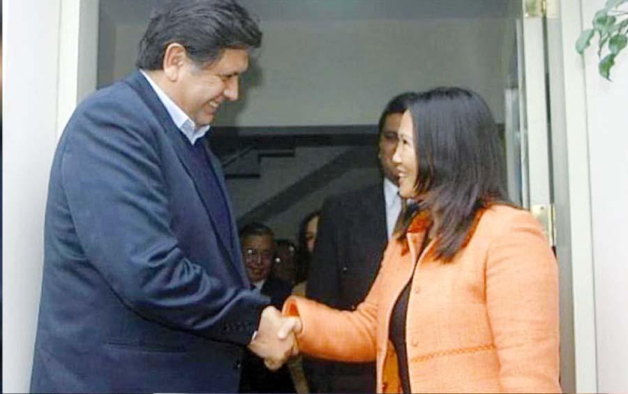 Alan Garcia y Keiko Fujimori