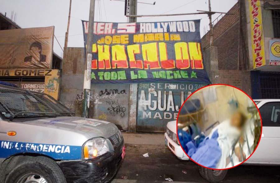Balacera deja cinco heridos en concierto de Chacalón Jr.