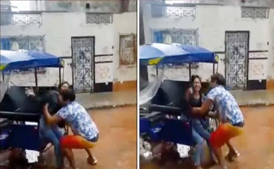 Celoso golpea a novia por clave de Facebook
