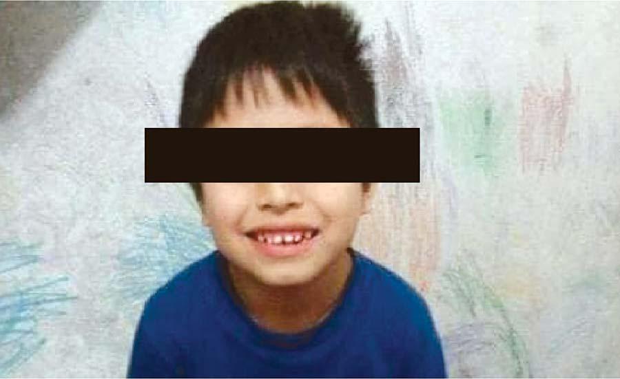 Confirman cadáver de niño autista desaparecido