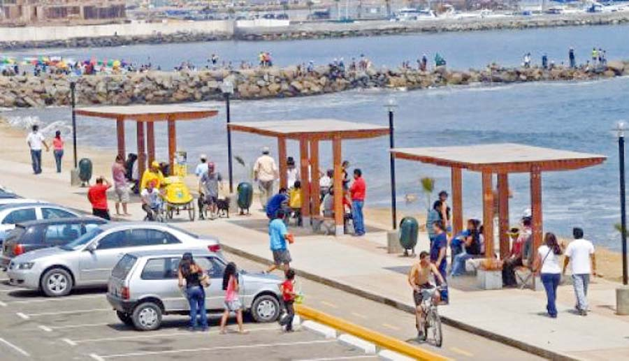Estacionamiento playas