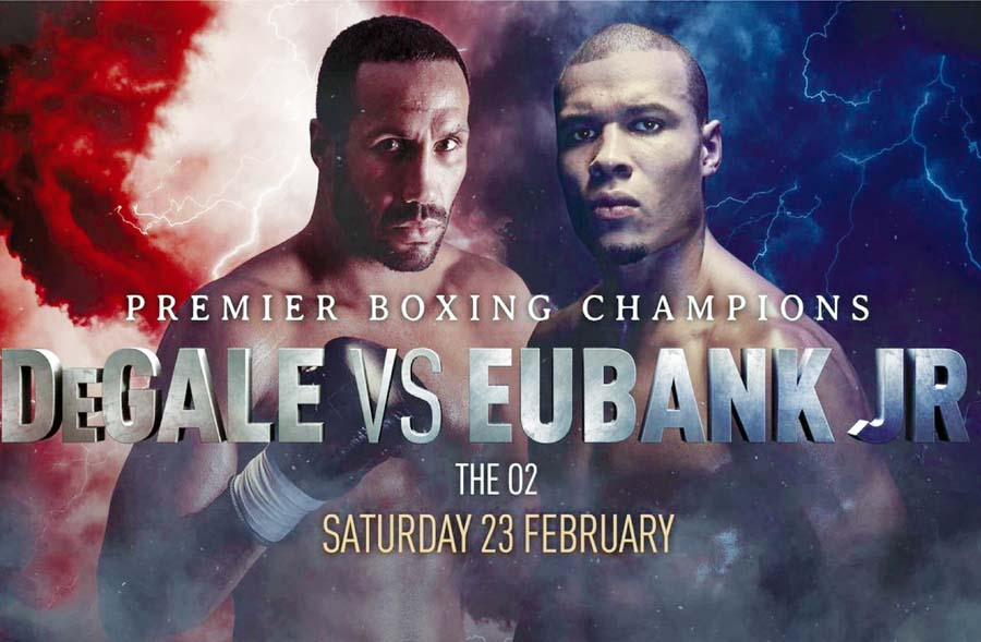 James DeGale en duelo de puños con Chris Eubank Jr