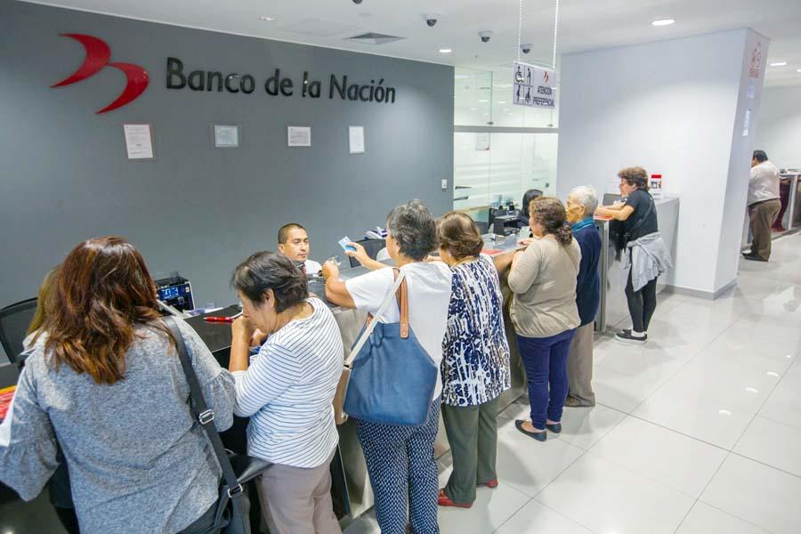 Jubilados banco de la Nacion
