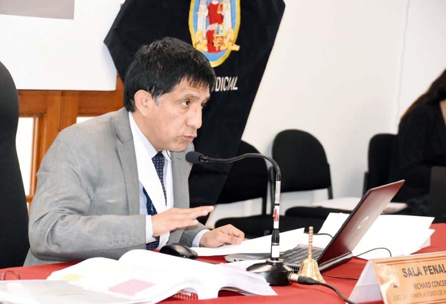 Juez Richard Concepción Carhuancho