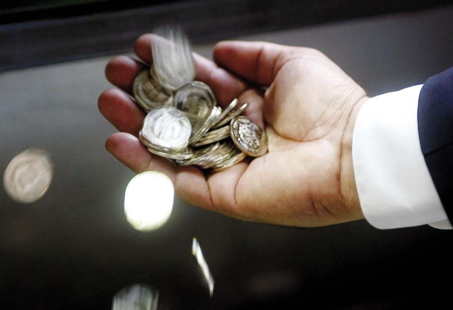 Monedas de 5 céntimos