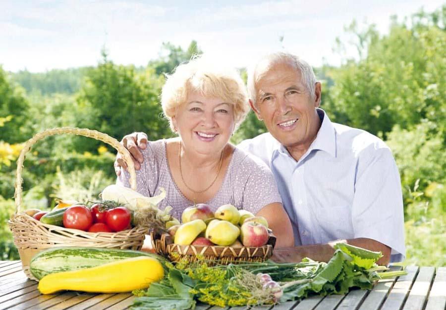 Nutrición en la tercera edad