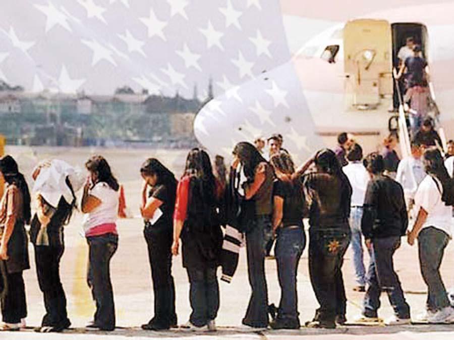 Peruanos deportados de Estados Unidos