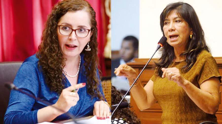 Rosa Bartra y Martha Chávez